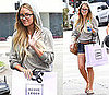 Pictures of Lauren Conrad Shopping at Herve Leger