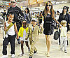 Slide Picture of Angelina Jolie With Shiloh, Maddox, Pax, and Zahara in Japan