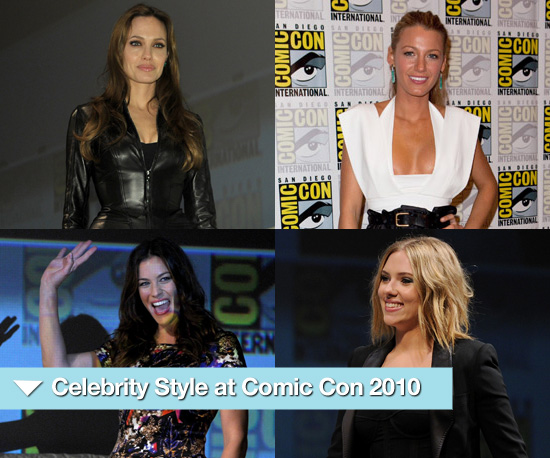 Photos of Angelina Jolie, Eva Mendes, Scarlett Johansson and More at Comic Con 2010