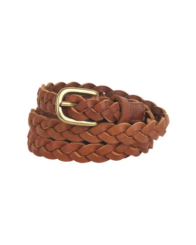 Tory Skinny Braided Belt, approx $22 from Delia's