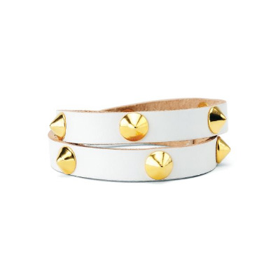 Como Double Wrap Cone Cuff, $72 (on sale), Vita Fede from Miijo