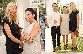 Pictures of Gwyneth Paltrow, Jessica Seinfeld, and Jerry Seinfeld at a Baby Buggy Event in the Hamptons