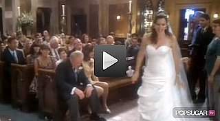 Video of Jennifer Garner Doing The Wave 2010-07-29 10:45:00