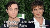 Ed Westwick and Matt Lanter Are Fans of Kristen Stewart and Robert Pattinson