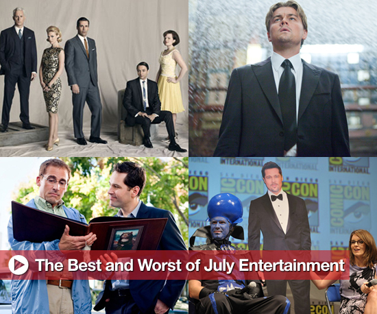 Buzz Backtrack: Best and Worst of July Entertainment
