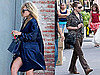 Pictures of Mary-Kate Olsen Dressed Up in New York and Ashley Olsen Wearing Sheer Top