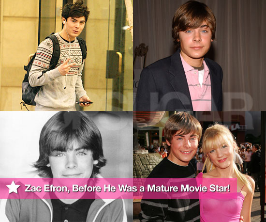 Pictures of Zac Efron From Back in the Era of High School Musical