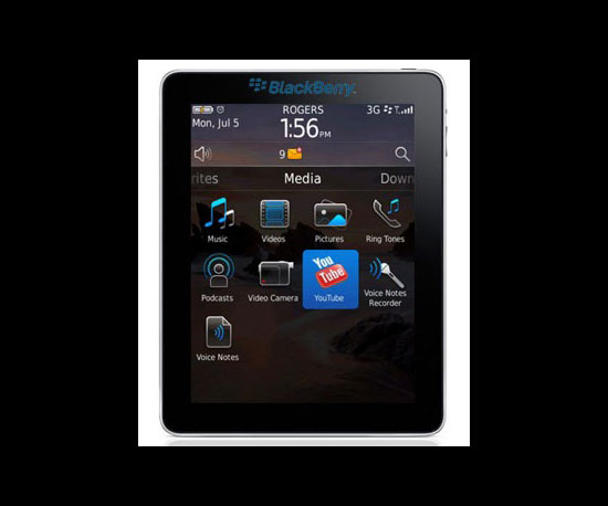 RIM Will Release a BlackBerry Tablet