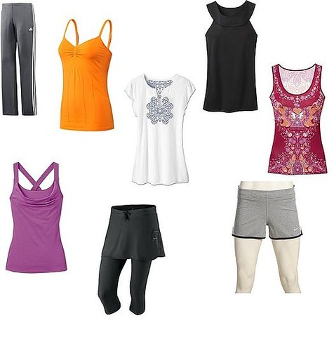 Cute comfortable workout apparel