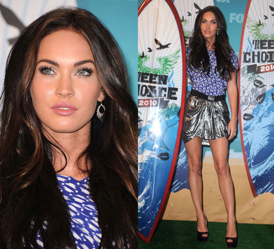Megan Fox at 2010 Teen Choice Awards