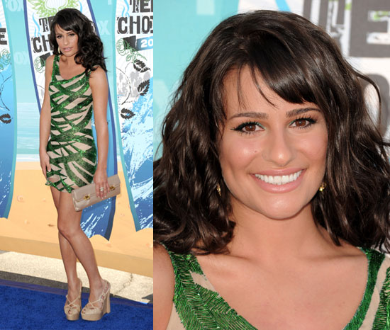 Lea Michele at 2010 Teen Choice Awards 2010-08-08 18:23:11