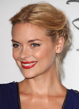 Pictures of Jaime King&#039;s Braided Updo