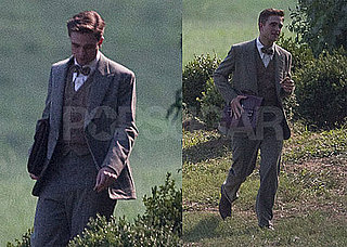 Pictures of Robert Pattinson Filming Water For Elephants