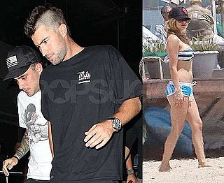 Pictures of Avril Lavigne in Bikini Plus Brody Jenner's New Mohawk