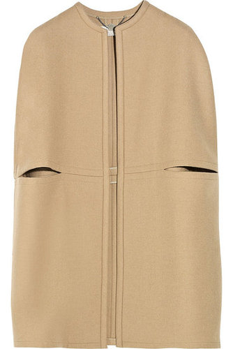 Stella McCartney | Wool-blend cape | NET-A-PORTER.COM 1445
