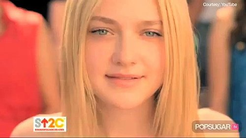 Video of Dakota Fanning in Stand Up to Cancer Public Service Announcement