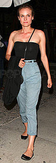 Diane Kruger Wears Black Bodysuit in LA