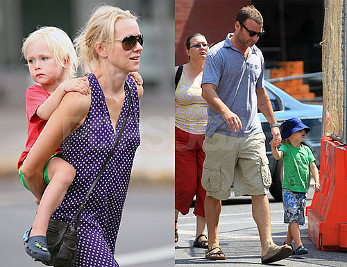 Pictures of Naomi Watts With Son Sasha in NYC
