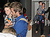 David Beckham and His Boys Touch Down in LA