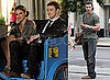 Pictures of Justin Timberlake and Mila Kunis Shooting Friends With Benefits in NYC