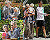 Pictures of Gwen Stefani With Gavin Rossdale and Kingston and Zuma in Malibu
