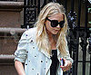Slide Picture of Mary-Kate Olsen Leaving NYC Apartment