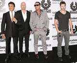 Pictures of Kellan Lutz, Sylvester Stallone, Mickey Rourke, Bruce Willis at The Expendables LA Premiere