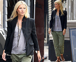Gwyneth Paltrow Strolls and Shops in NYC