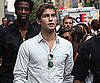 Slide Picture of Chace Crawford Filming Gossip Girl in New York