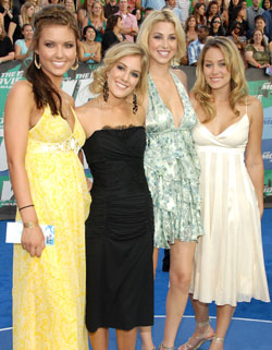 Heidi Montag Hills Drama With Lauren Conrad and Audrina Patridge