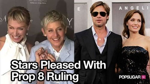 Celebrities React to Proposition 8 Ruling