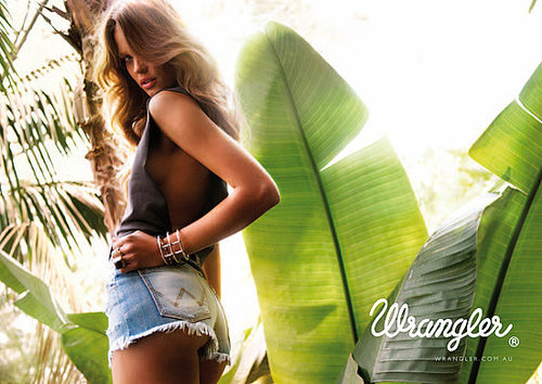 Wrangler's new Spring/Summer '10 campaign featuring Stephanie Cherry