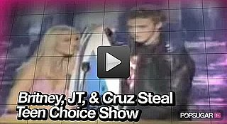Video of Britney and JT's Teen Choice Moment, Eminem and Rihanna's Personal Video, and Angelina in New Film 2010-08-06 14:00:00