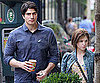 Slide Picture of Brandon Routh and Anna Kendrick Grabbing Coffee in Toronto
