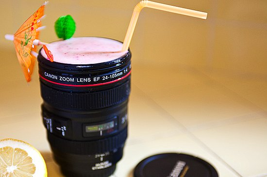 Photos of the Lens Cap Mug