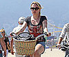 Slide Picture of Anna Paquin Riding Bike in LA