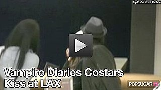 Video: Vampire Diaries Ian Somerhalder Spotted Kissing Costar Nina Dobrev! 2010-08-09 10:17:00