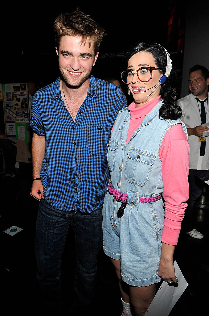 Robert Pattinson and geek chic Katy Perry.