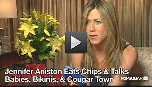 Video Interview With Jennifer Aniston About The Switch, Babies, Puppies, and Bikini Bracket