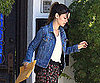 Slide Picture of Rachel Bilson At Mailbox in LA