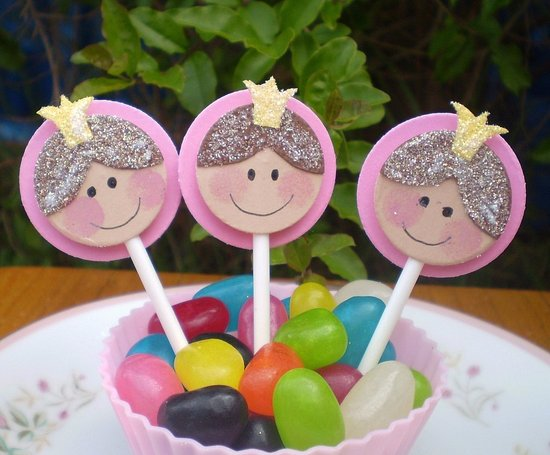 Little Princess Cupcake Toppers ($9)