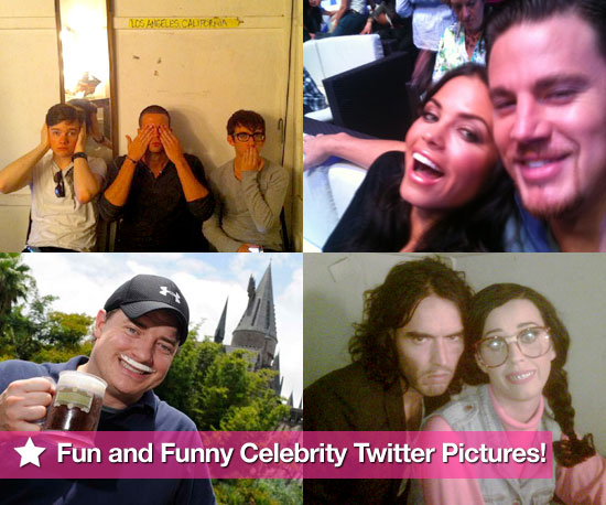 The Guys of Glee, Channing Tatum, and Katy Perry in This Week's Fun and Funny Celebrity Twitter Pictures! 2010-08-12 09:15:00