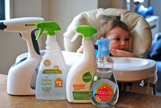 BabySugar Diaries: Battle of the Eco-Friendly Cleansers