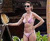 Slide Picture of Hilary Swank in Bikini in Hawaii