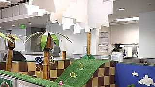 Sega Office Prank With Sonic the Hedgehog