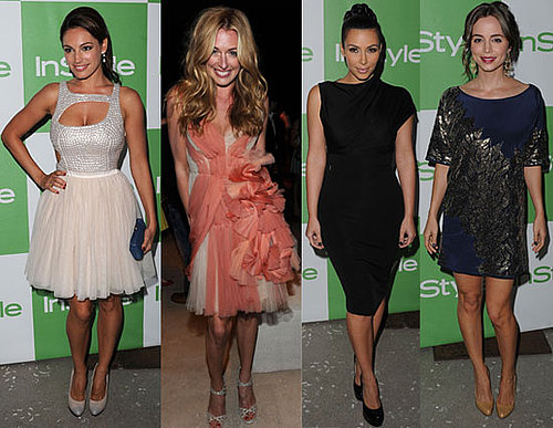 Pictures of Kelly Brook, Kim Kardashian, Eliza Dushku, Cat Deeley, Amber Heard at InStyle Party