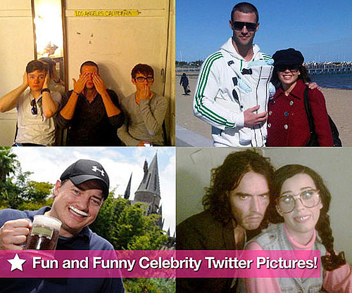 The Guys of Glee, Channing Tatum, and Katy Perry in This Week's Fun and Funny Celebrity Twitter Pictures!