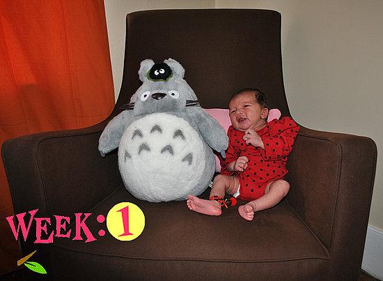 Olivia Lily 1 Week Old!!