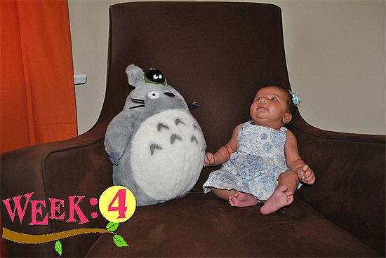Olivia Lily 4 Weeks Old!!