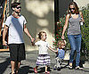 Slide Picture of Tobey Maguire, Jennifer, Ruby and Otis in Brentwood